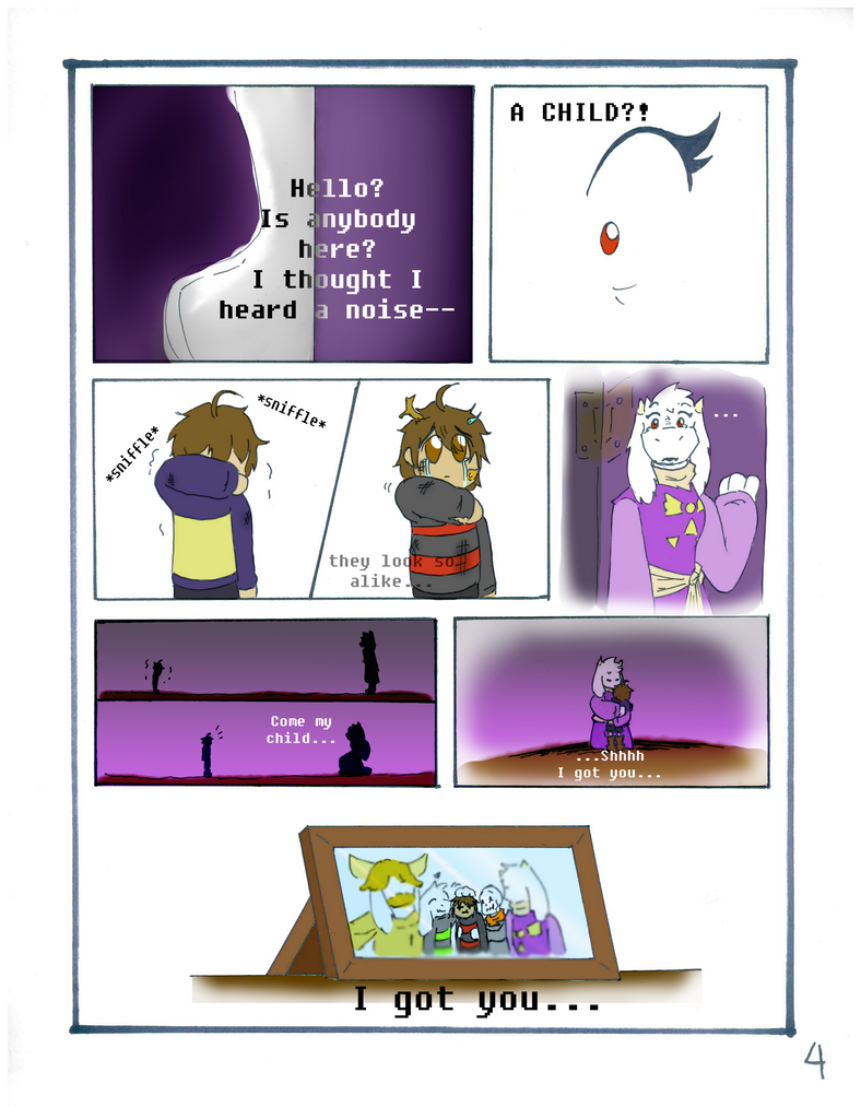 ENDTALE DETERMINATION pg4 by imatrashcan2