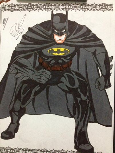 Coloring book Batman! By Gbandit by GBandit