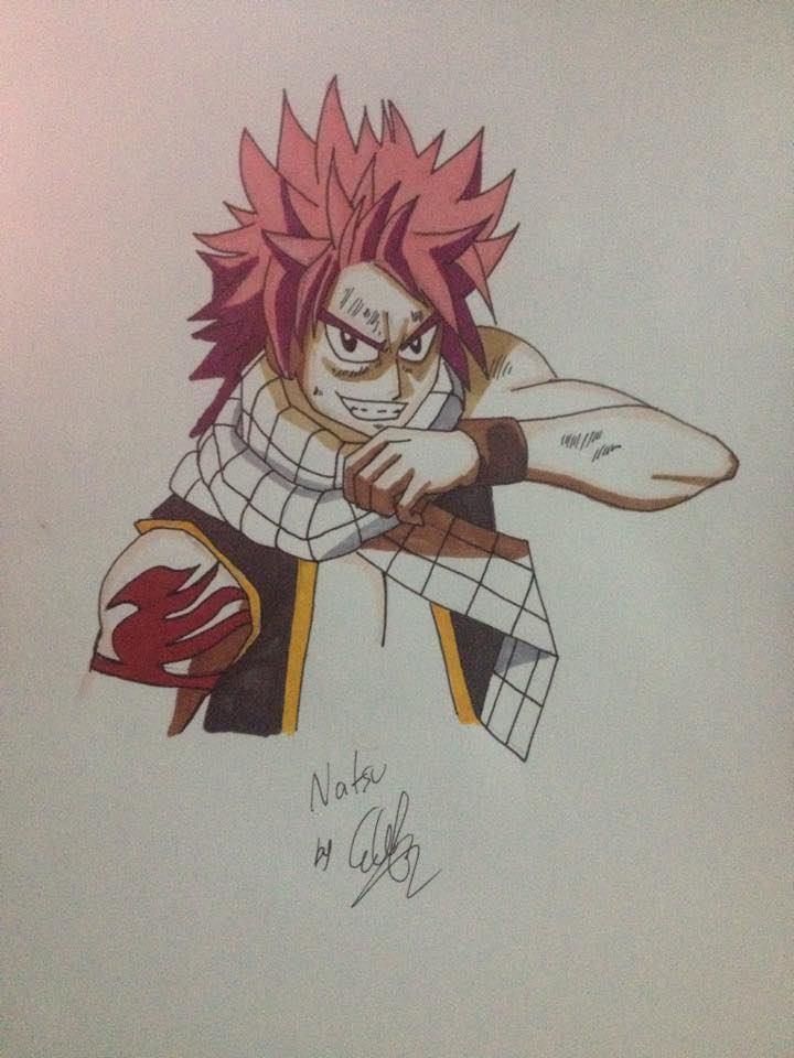 Natsu from FairyTail by GBandit