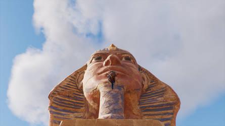 Sphinx by trilliondollerman