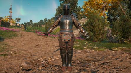 Cyber Knight Commando by trilliondollerman