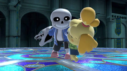 Isabelle is gonna have a bad time.