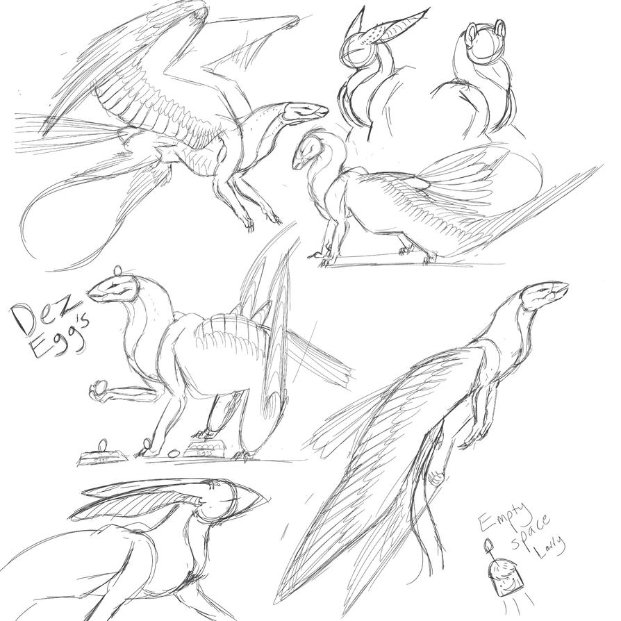 Skymarr sketch dump OUTDATED by Karotcake