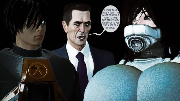 Half Life 2: Gman's Unforeseen Proposition