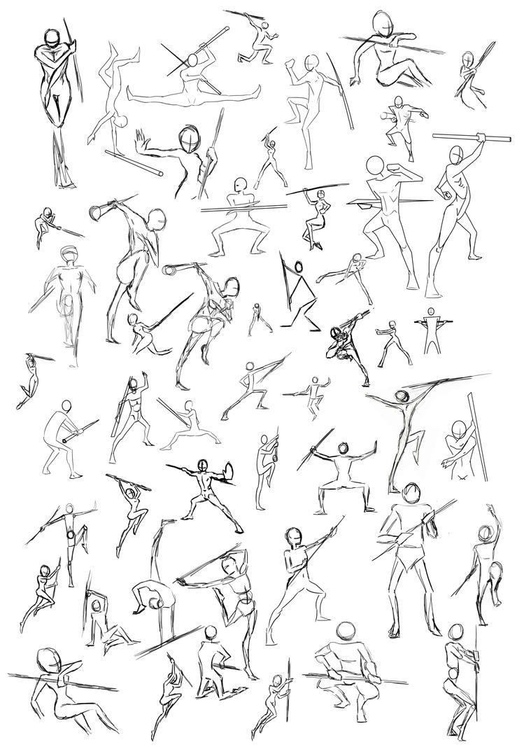 Drawing Poses Sword | www.imgkid.com - The Image Kid Has It!