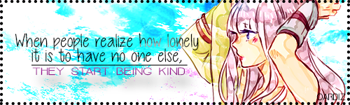 They start being kind - Oardiz by Valeria61398