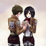 Mikasa x Eren