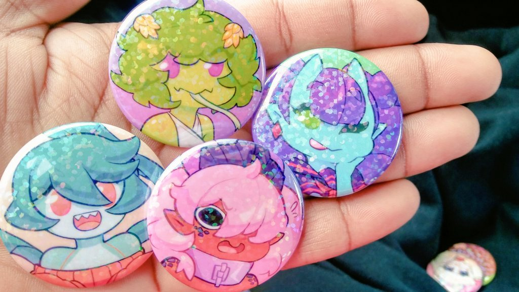 Monster Girl - Buttons! by Saane