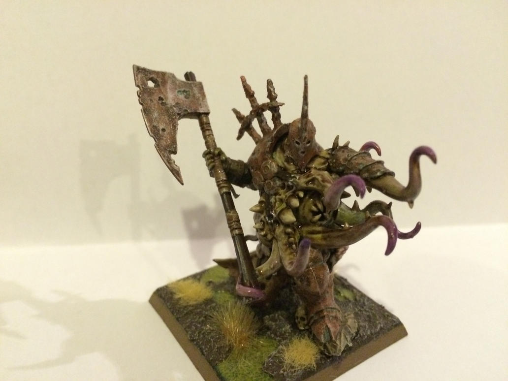 Gutrot Spume - Lord of Nurgle 2 by DarkDomino