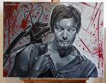 Daryl Dixon - The Walking Dead - Painting