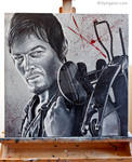 Daryl Dixon - The Walking Dead Painting