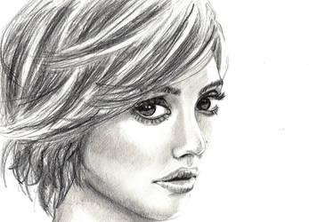 Jessica Alba by annbrair