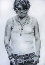 Johnny Depp by annbrair