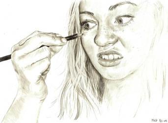 self portrait by annbrair