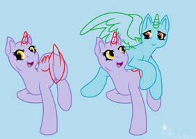 Pony Base#8: Gurl get off ma back by PlushyBases