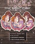 Fruits Basket   Kyo x Tohru Vinyl Sticker V.2  