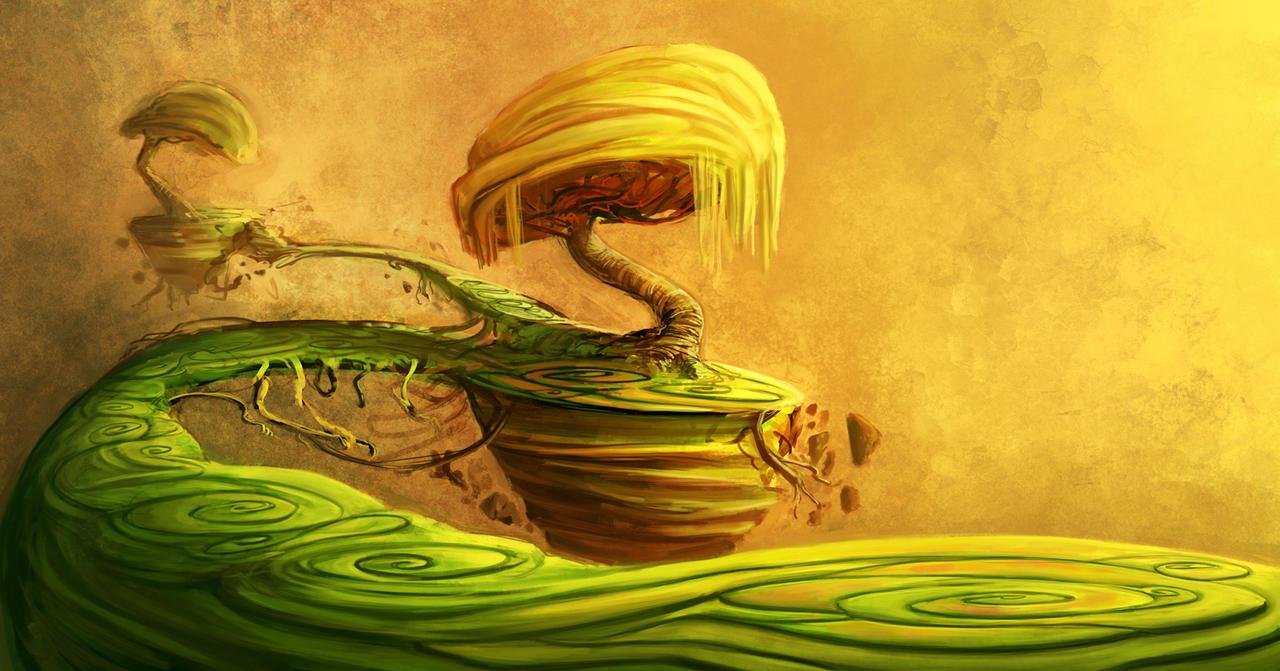 a dreamscape by ShaggyHandlz