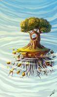 floatin tree