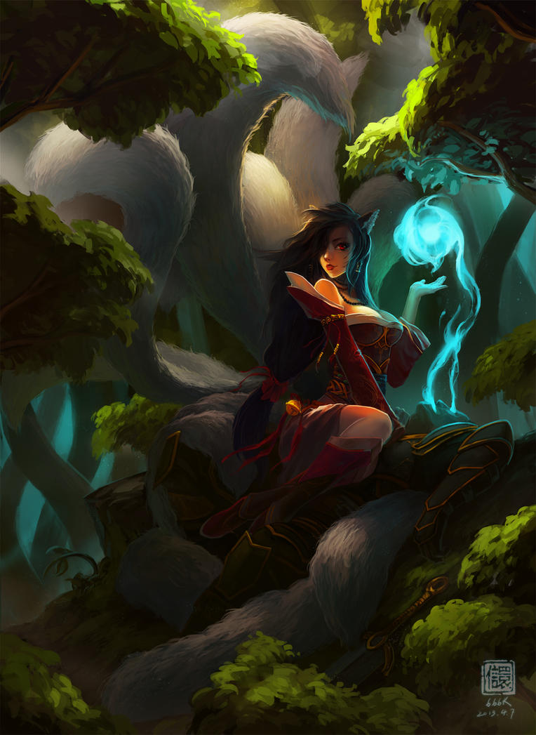 Lol Ahri : Fill my soul by 6kart
