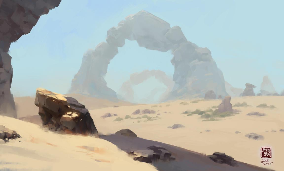 desert by 6kart