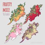 OPEN 4/4 Fruit Mice $8 by K4nashi