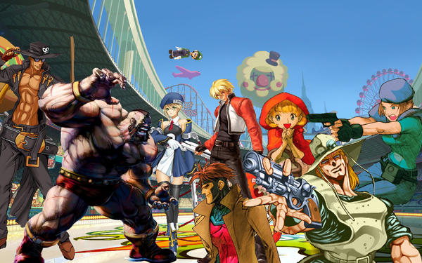 Fighting game wallpaper by dannyts on deviantart fighting game wallpaper by dannyts voltagebd Choice Image