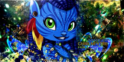 Chibi Neytiri by chico1shot