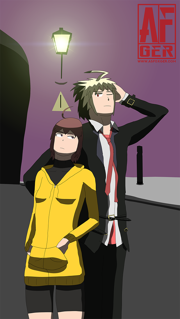 Hyde and Linne by AsFoxger