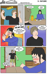 Geek Roommates #6 - Nature ENG by AsFoxger