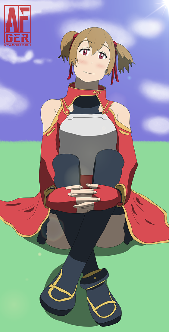 Silica sitting by AsFoxger