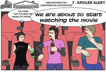 Geek Roommates #7 - Spoiler alert ENG by AsFoxger