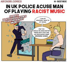AsFoxger Comics #4 - Racist music ENG by AsFoxger