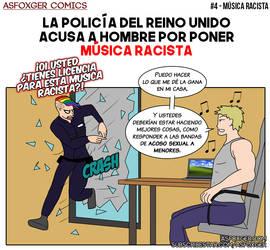AsFoxger Comics #4 - Racist music SPA by AsFoxger