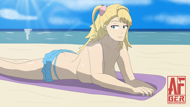 Galko topless by AsFoxger
