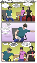 Geek Roommates #50 - Virtual bonus ENG