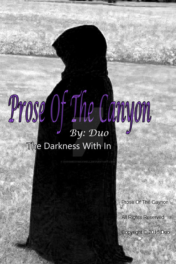 Prose of The Canyon Cover by DuoSmexyMaxwell