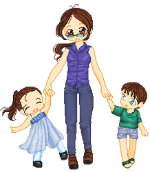 Hey Mommy... by Pixelated-Loser