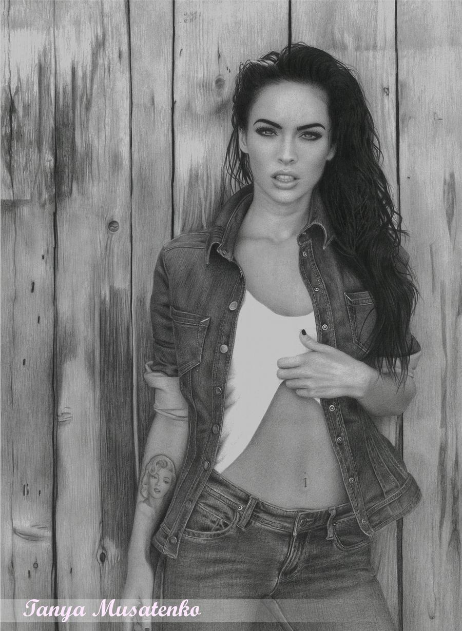 Megan Fox by TanyaMusatenko