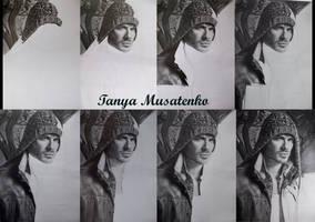 Ian Somerhalder WIP by TanyaMusatenko