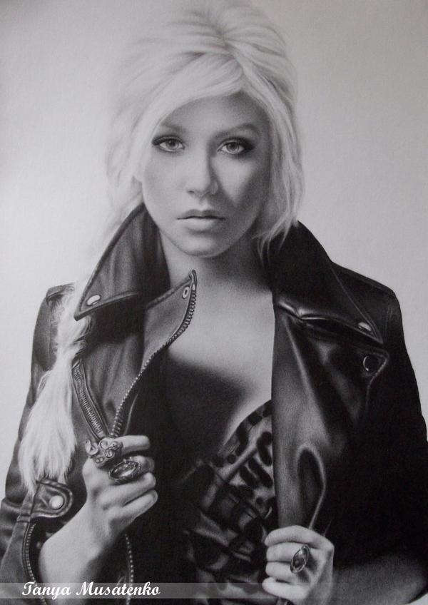 Christina Aguilera by TanyaMusatenko
