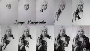 Christina Aguilera WIP by TanyaMusatenko