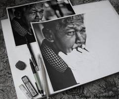 Old man WIP by TanyaMusatenko