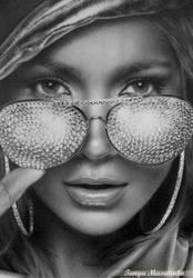 Jennifer Lopez by TanyaMusatenko