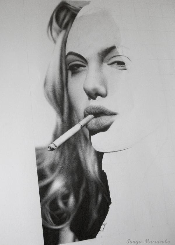 Angelina WIP by TanyaMusatenko