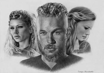 Vikings by TanyaMusatenko