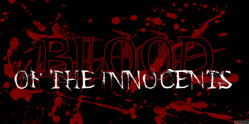 blood of the innocents by onubub