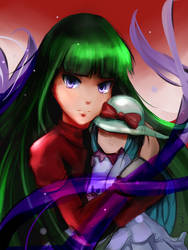 Sabrina  Pokemon trainer by Darklovelady