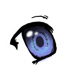 One Anime Eye  '_' by BabyMezzo