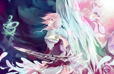 Final Fantasy XIII-2 by Animus-Rhythm