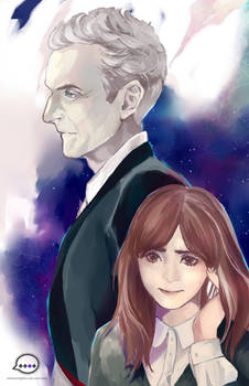 Doctor Who 12th Doctor and Clara